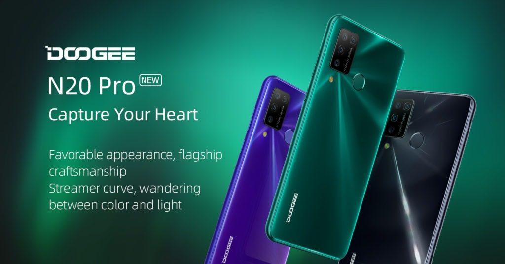 banggood, cupom, gearbest, DOOGEE-N20-Pro-Smartphone