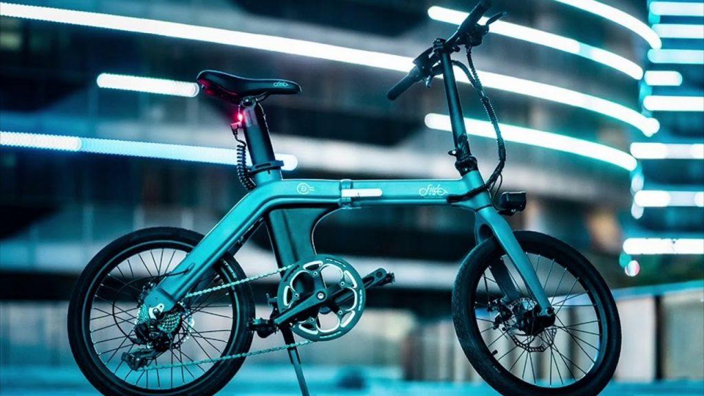 banggood, geekmaxi, kupon, geekbuying, FIIDO-D11-foldning-elektrisk-knallert-cykel