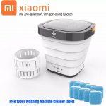 phiếu giảm giá, banggood, Moyu-XPB08-F2-2-trong-1-Portable-Fordable-Mini-Wash-Machine