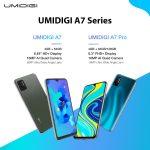 cupom, banggood, UMIDIGI-A7-Smartphone