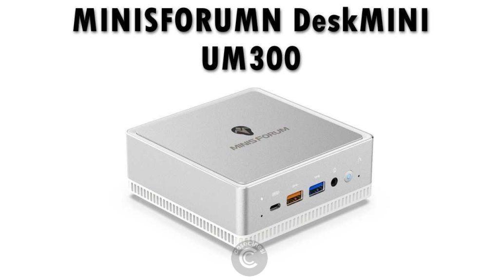 cupom, banggood, MINISFORUM-DeskMINI-UM300-Mini-PC