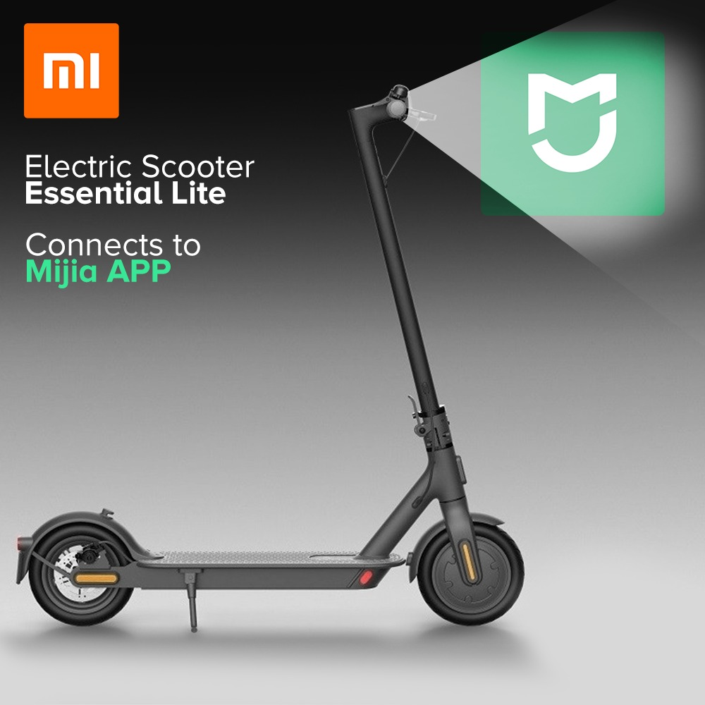 299 With Coupon For Mi Electric Scooter Essential Xiaomi Folding Electric Scooter Lite From Eu Pl Warehouse Geekbuying China Secret Shopping Deals And Coupons