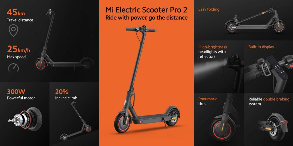 banggood, cupom, geekbuying, Xiaomi-Mi-Foldable-Electric-Scooter-Pro-2