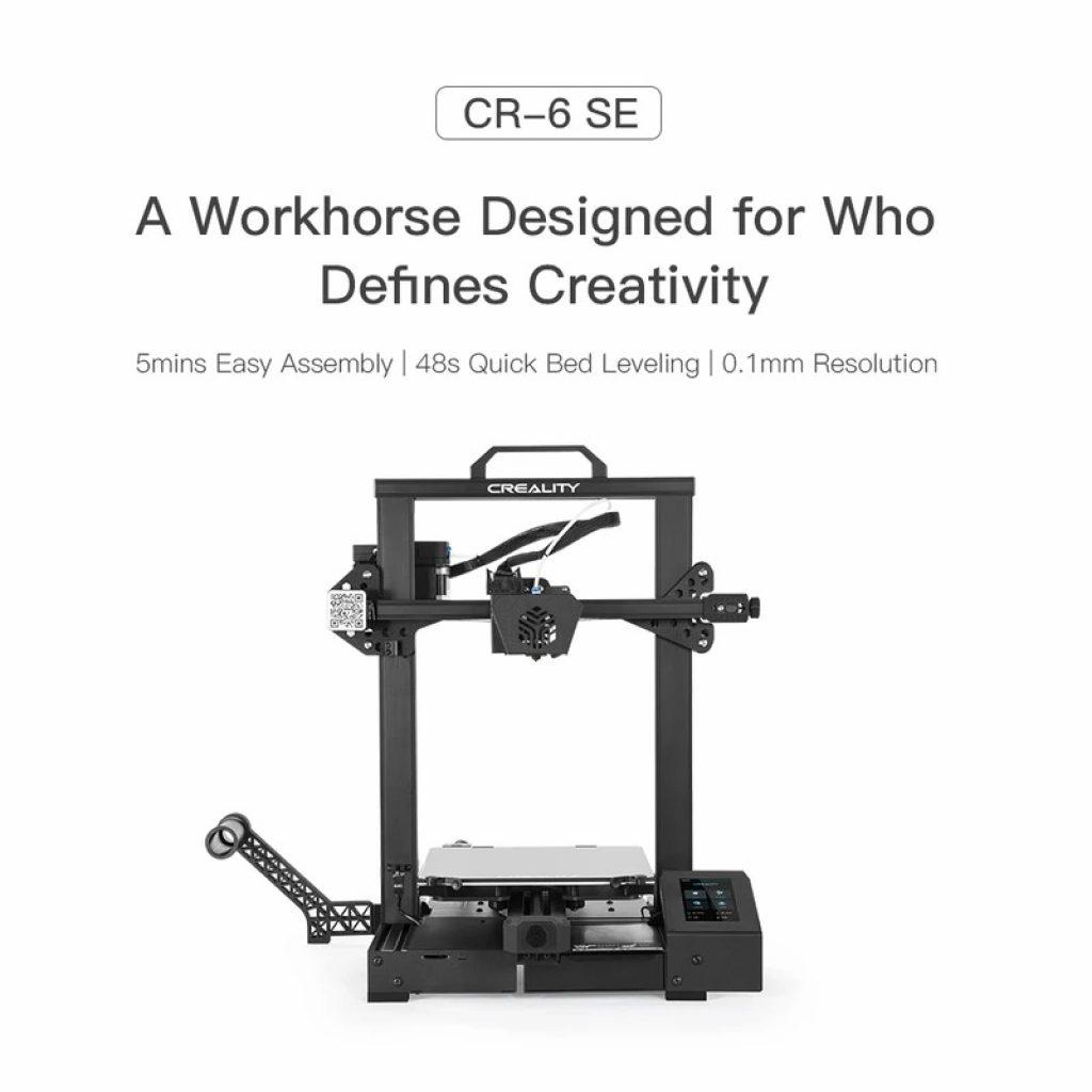 banggood, coupon, tomtop, Creality-CR-6-SE-3D-Printer