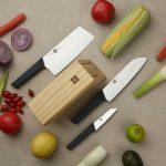 kupon, banggood, HuoHou-4-Pcs-Non-Stick-Stainless-Steel-Kitchen-Knife-Set