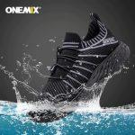 coupon, banggood, ONEMIX-2020-NEW-Running-Shoes-Waterproof