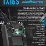 kupon, banggood, RadioMaster-TX16S-Hall-Sensor-Gimbals-Multi-protocol-RF-System-OpenTX-Transmitter