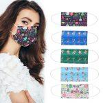 κουπόνι, banggood, Adult-Christmas-50Pcs-Disposable-Mouth-Face-Masks-3-layer-Respirator-Mask-Christmas-Dust-Proof-Personal-Protection