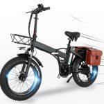 coupon, banggood, CMACEWHEEL-GW20-48V-15Ah-750W-20in-Folding-Electric-Bike