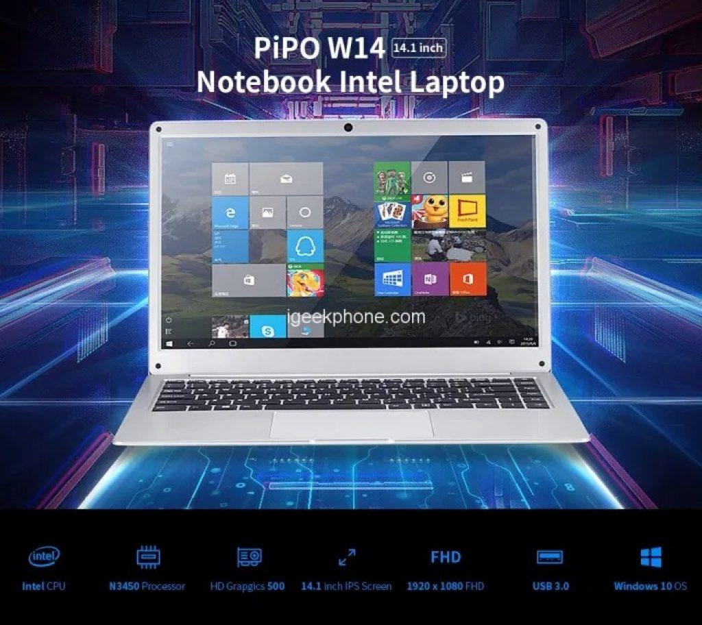 قسيمة ، banggood ، Cenava-PIPO-W14-Notebook