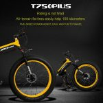 coupon, tomtop, LANKELEISI-XT750PLUS1000W-26-Inch-Folding-Power-Assist-Electric-Bike