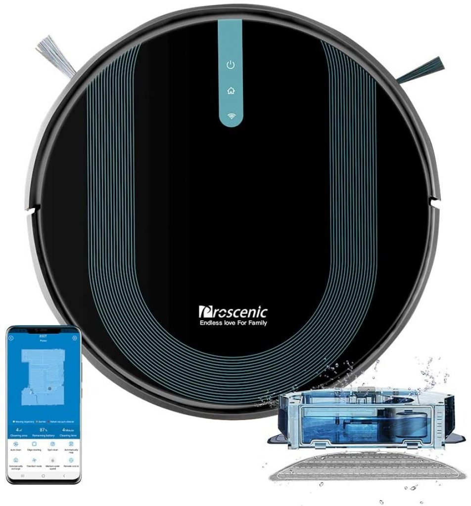 geekmaxi, kupon, geekbuying, Proscenic-850T-Smart-Robot-Cleaner