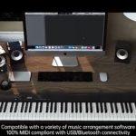 kupon, prasak, BORA-BX5-88-tipke-pametni-prijenosni-digitalni-elektronički-klavir