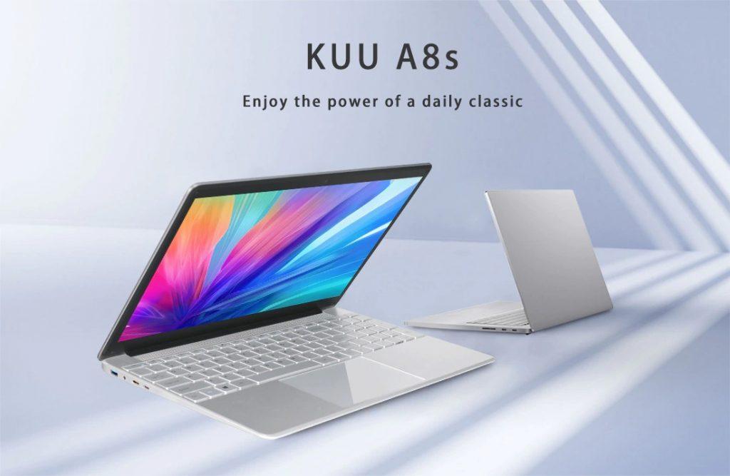 kupon, gearbest, KUU-A8S-Laptop-Notebook