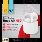 κουπόνι, banggood, Realme-Air-Neo-TWS-bluetooth-5.0-Earphone-13mm-Large-Bass-Drivers-Low-Latency-Game-Mode-Smart-Touch-Headphone-Headset