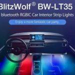 coupon, banggood, BlitzWolf®-BW-LT35-Bluetooth-RGBIC-Car-Interior-Strip-Lights