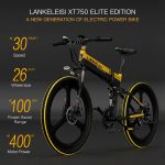 coupon, tomtop, LANKELEISI-XT750-ELITE-Edition-26-Inch-Folding-Electric-Bike
