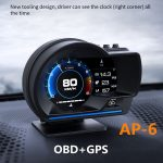kupon, prasak, Smart-Car-OBD2-GPS-Gauge-HUD-Head-Up-Digital-Display-Speedometer-Turbo-RPM-Alarm