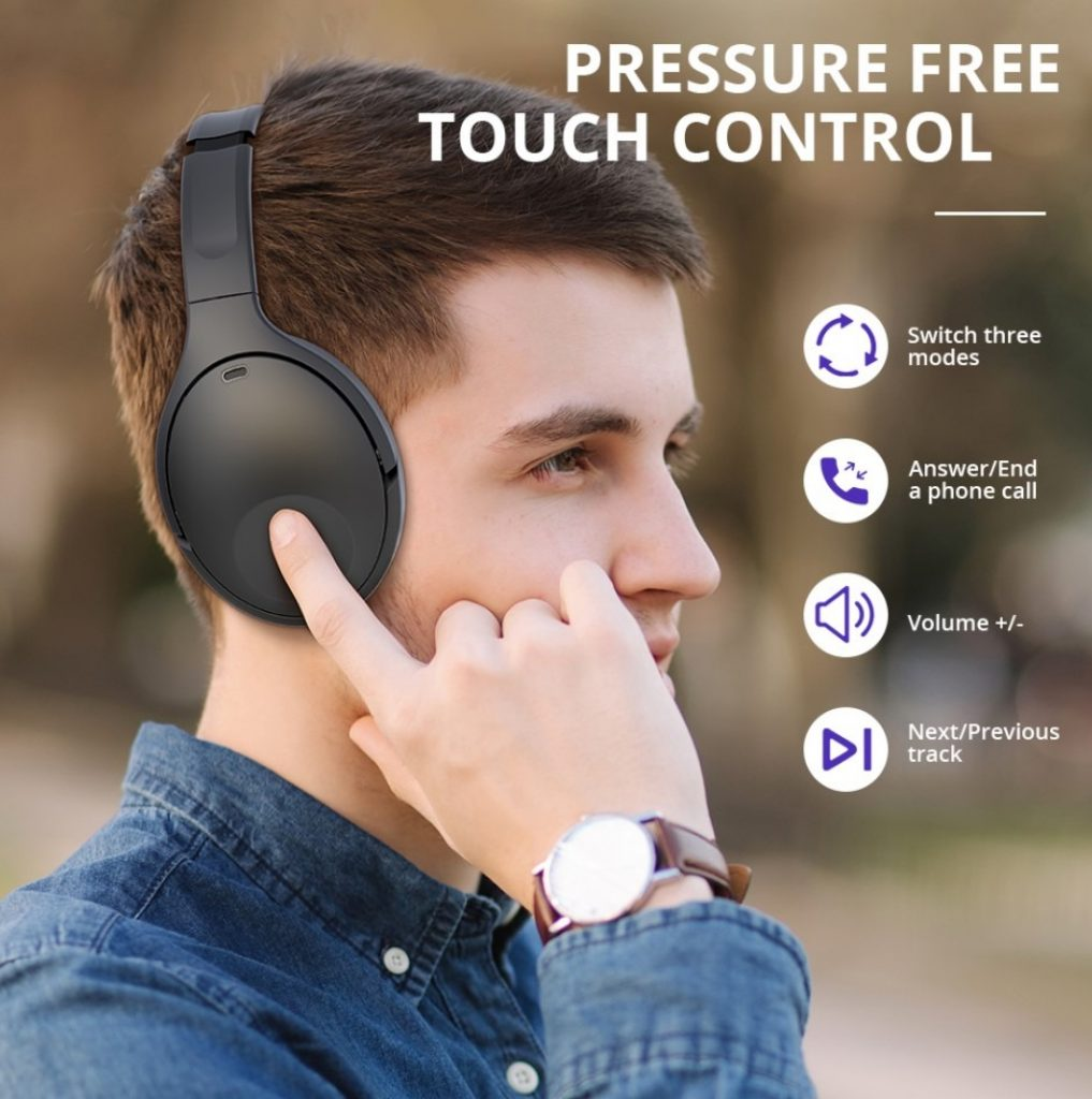 קופון, רכישת geek, טרונסמארט-אפולו-Q10-ANC-פעיל-ביטול רעש-אוזניות Bluetooth
