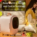 coupon, banggood, Baseus-Desktop-8L-Mini-Car-Household-Refrigerator-60W-Power-Dual-Use-Warmer-and-Cooler