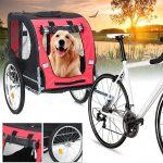 coupon, banggood, Katlanabilir-Multifuctions-Bisiklet-Treyler-2-Tekerlekli-Taşıyıcı-Büyük Kapasiteli-Valiz-Bebek-Arabası-Pet-Depolama-Araba-Kargo-Dış Mekan-El Arabası-Max-Yük-88-lbs