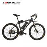 cupom, banggood, LANKELEISI-T8-Folding-Moped-Bicycle