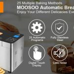 coupon, geekmaxi, MOOSOO-MB30-Stainless-Steel-Smart-Bread-Machine