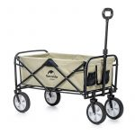 coupon, banggood, Naturehike-Portable-Folding-Luggage-Trolley-Cart-Adjustable-Pull-Rod-Shopping-Push-Cart-Max-Load-80kg-Outdoor-Camping
