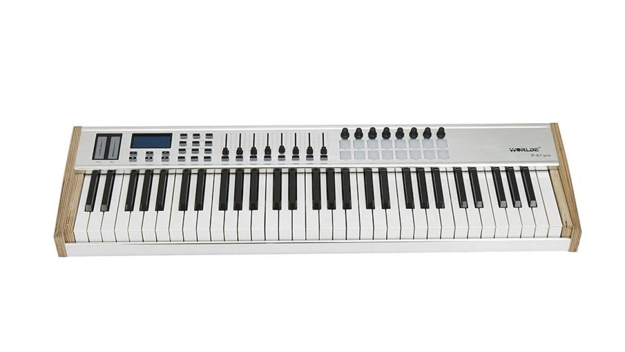 €201 with coupon for WORLDE P-61 PRO MIDI Keyboard Controller 61-key  Semi-weighted Professional MIDI Keyboard MIDI Controller for Music Studio  Stage Live Performance from BANGGOOD - China secret shopping deals and  coupons