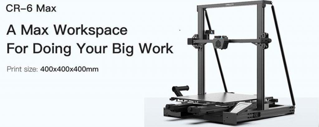 tomtop, kupon, banggood, Creality-3D®-CR-6-MAX-3D-Printer-Kit