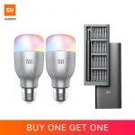 kupon, pedagang, Mi-LED-Smart-Bulb-White-and-Color-2-Pack (Get-Mi-Precision-Obeng-Kit-Global-for-Free)