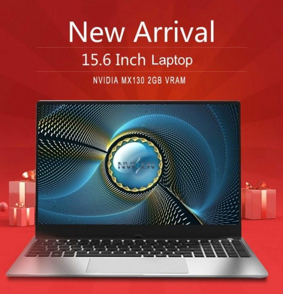 cupom, banggood, NVISEN-GLX153-Notebook