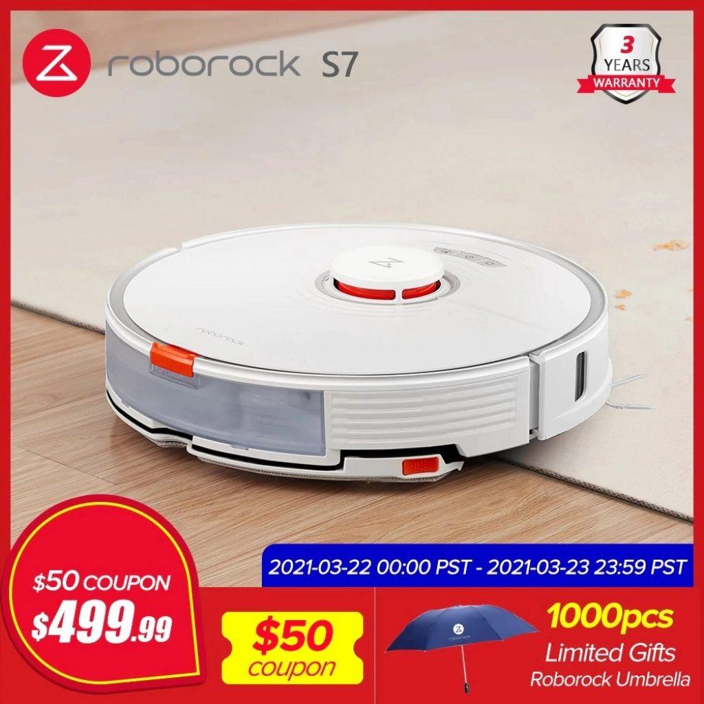 רכישת geek, קופון, aliexpress, רובורוק-S7-רובוט-שואב אבק