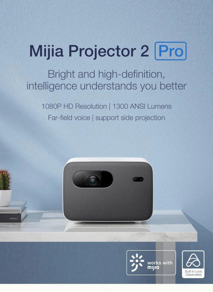edwaybuy, gshopper, cupon, banggood, XIAOMI-Mijia-Mi-Smart-Projector-2-Pro