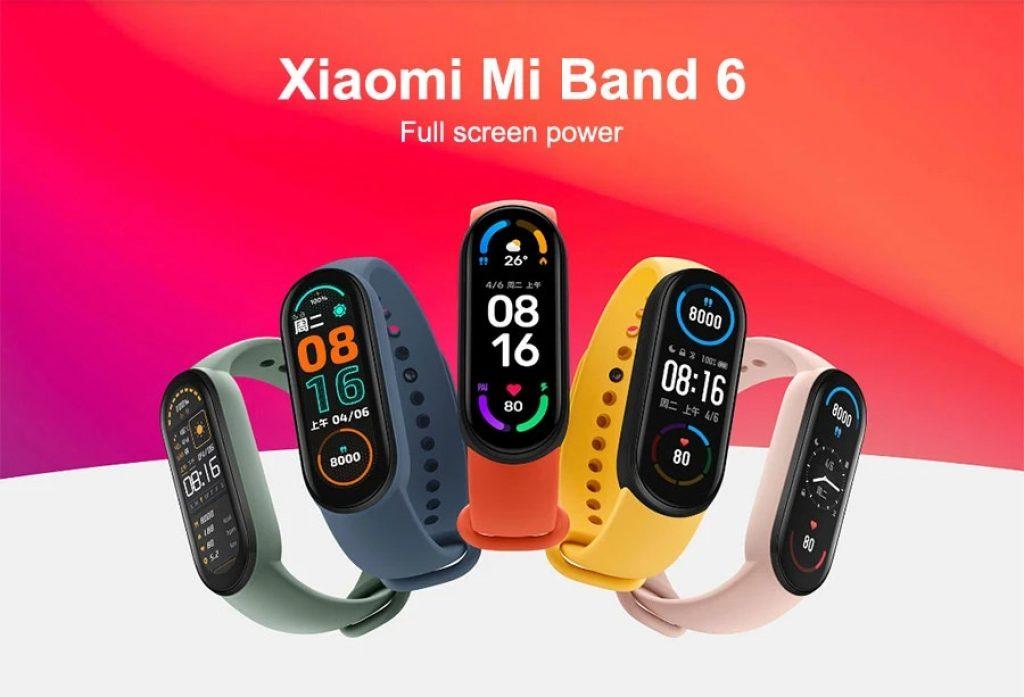 קניות geek, gearbest, קופון, banggood, Xiaomi-Mi-Band-6-Smart-Watch