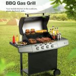 купон, banggood, Blitzwolf-BW-GO1-Four-Burners-BBQ-Gas-Grill