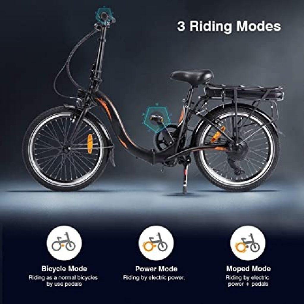 tomtop, kupon, geekbuying, Fafrees-20F039-20-calowy-składany-rower elektryczny