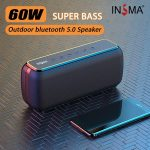 kupon, banggood, INSMA-S600-60W-bluetooth-5.0-Super-Bass-højttaler