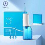 coupon, banggood, SOOCAS-W3-Pro-Portable-Electric-Flosser-IPX7-Waterproof-Oral-Irrigator