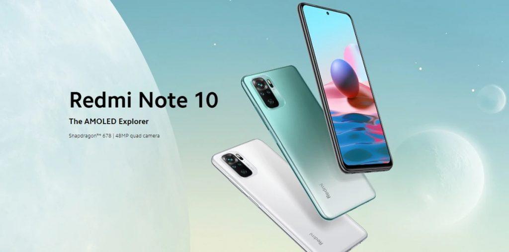 cupom, banggood, Xiaomi-Redmi-Note-10-Smartphone