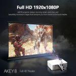 קופון, banggood, מקרן AUN-AKEY8-1080P-LED