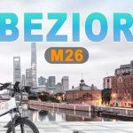 tomtop, wiibuying, banggood, kupon, geekbuying, BEZIOR-M26-Katlanır-Elektrikli-Bisiklet