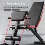 קופון, banggood, BominFit-WB1-5-in-1-Gym-Bench