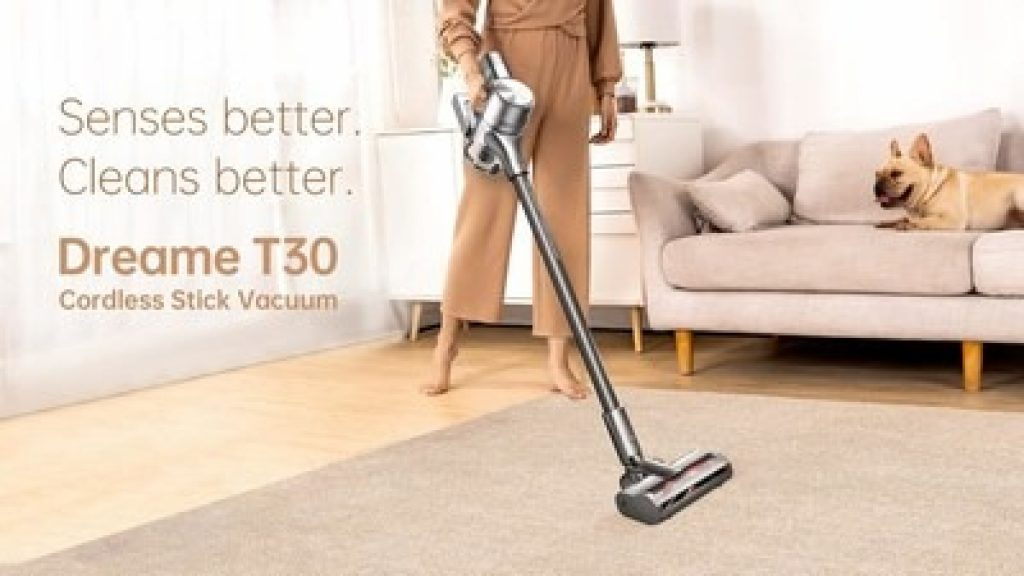 edwaybuy, coupon, aliexpress, Dreame-T30-Handheld-Wireless-Vacuum-Cleaner