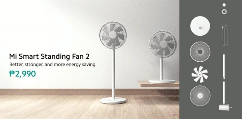 edwaybuy, kupón, gshopper, Mi-Smart-Standing-Fan-2-Global-Version