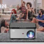 coupon, banggood, Rigal-RD828-1080P-Full-HD-WIFI-Projector