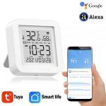 कूपन, बैंगगूड, तुया-वाईफाई-तापमान-आर्द्रता-स्मार्ट-सेंसर-घड़ी