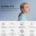cupom, banggood, Xiaomi-Redmi-AirDots-3-Pro-TWS-bluetooth-5.2-fone de ouvido