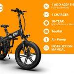 banggood, cupon, geekbuying, ADO-A20F-Off-road-Electric-Folding-Bike