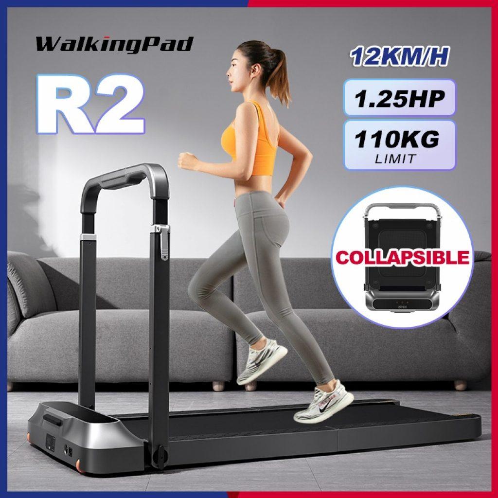 geekbuying, geekmaxi, cupon, banggood, WalkingPad-R2-Treadmill-LCD-Display-bluetooth-Folding-Walking-Pad